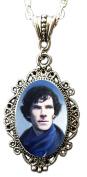 Alkemie Benedict Cumberbatch As Sherlock Holmes Cameo Necklace