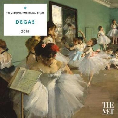 Degas 2018 Wall Calendar