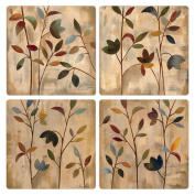 CoasterStone AS2595 Branches at Sunrise Absorbent Coasters, 11cm , Set of 4