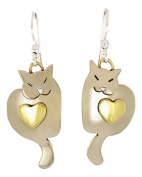 Sweet Dreams Kitty Earrings Mima & Oly By Far Fetched