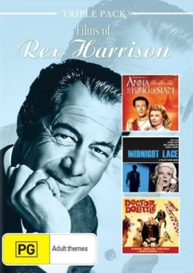 Rex Harrison Triple Pack: Anna & The King of Siam / Doctor Dolittle / Midnight Lace
