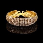 FLOW ZIG ZX Alloy/Rhinestone Fashion Matching Tennis Bracelets Party/Daily 1pc