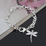 FLOW ZIG Women's Bracelets Alloy Butterfly Pendent Handmade Bracelets