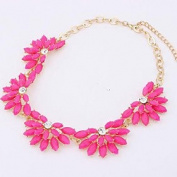 FLOW ZIG Cusa Elegant Flower Necklace