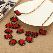 FLOW ZIG Fashion OL Exaggerated Necklace