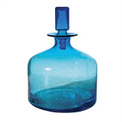 Lazy Susan 824015 Decorative Decanter, Small, Pool Blue