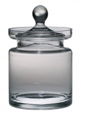 Majestic Gifts European Handmade Cookie Jar, Medium, Clear