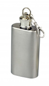 SE HQ149-2 Stainless Steel Keychain Flask, 60ml