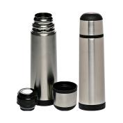 740ml Black Band Stainless Steel Vacuum Flasks