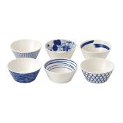 Royal Doulton Pacific Tapas Bowls, 11cm , Blue, Set of 6