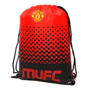 Manchester United FC Official Fade Football Crest Drawstring Sports/Gym Bag