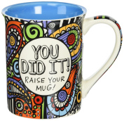 Enesco 4054458 Our Name Is Mud You Did It Cuppa Doodle Mug, 11cm , Multicolor