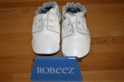 Robeez Soft Soles Special Occasion Boys White Shoes 12-18 Months
