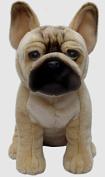 French Bulldog Soft and Cuddly Dog Toy Realistic 30cm