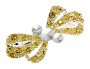 Fashion Dimensions Knotted Topaz Hair Barrette