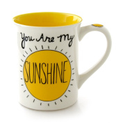 Enesco Our Name is Mud by Lorrie Veasey You are My Sunshine Mug, 11cm , Multicolor