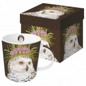 Paperproducts Design Featuring The Art of Vicki Sawyer Snow Queen Gift Boxed New Bone China Mug, Multicolor, 400ml