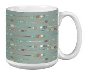 Tree-Free Greetings Extra Large 590ml Ceramic Coffee Mug, Organic Earth Tones Themed Shel Rummell Art