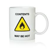 Contents May Be Hot Mug