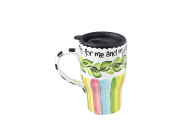 Young's As for Me Ceramic Travel Mug, 15cm