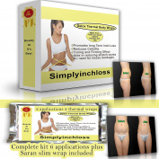 HOT DEAL 6 PACK COMBO slimming body lipo clay wrap it work 10cm loss weight watcher