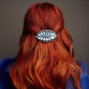 Diamante Hair Clip Crystal Hairclip Rhinestone Barrette Wedding Hair Clip Wedding Hair Accessory Diamante Hair Grip Crystal Hair Clip Hair Jewellery Hair Jewellery Large Hair Clip