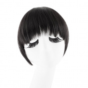 MapofBeauty Fashion False Bang Neat Fringe Hairpiece Clip in Hair Extensions Accessories