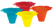 Paragon 240ml Sno-Cone Flower Drip Tray Cups, Multicolor, 100-Cup Case