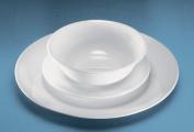 Corelle Livingware Piece Dinnerware Set, Winter Frost White , Service for 4 (12-piece