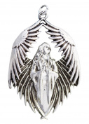 Prayer for the Fallen for Remembrance by Anne Stokes Charm Amulet Talisman Pendant