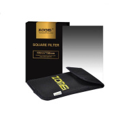 ZOMEI Graduated Neutral Density ND8 GND8 Square Filter Graduated /Gradual /Grad Grey Filter Professional Photography GND Filter with a Storage Pouch for Cokin Z Series Filters 150x100mm 4x6 Holder and Canon Nikon Sony Camera