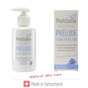 PhytoSuisse Prélude Hydra protection Face & Hands Cleansing Gel - Gentle wash lotion for hands and face (suitable for people with allergies and baby), 150 ml