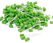 Amzhealth Green Foam Oral/Mouth Cleaning Swab - Pack of 250