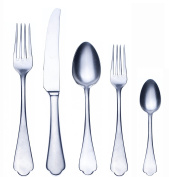 Mepra 106622005 Dolce Vita 5 Piece Place Setting, Pewter