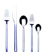 Mepra 104422005 Due 5 Piece Place Setting, Stainless Steel