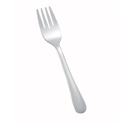 Winco 0012-06 12-Piece Windsor Heavy Weight Salad Fork Set, 18-0 Stainless Steel