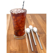 WMF Type Long Drink Spoons, 20cm , Silver, Set of 4