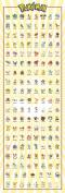 GB eye Ltd Pokemon, Kanto 151, Door Poster, 53 x 158 cm, Various