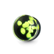 High Quality Pyrex Glass - Ear Plug (Pebble Pyrex Glass Double Flared Ear Plug) in a unique design with excellent colour Intensity For A Comfortable