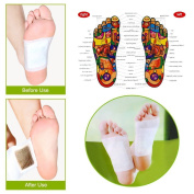 50pcs Detox Foot Pads Patch Detoxify Toxins Adhesive Pain Relief Foot Care Keeping Fit Health Care
