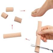 Mofun® 2x Gel Toe Tube Bandage Sore Finger Cushion Corns Calluses Bunion Blister Pain Cuts Protectors Softens Relief