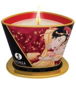 Shunga Strawberry Wine Romance Massage Candle