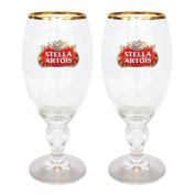 STELLA40CLX2 Stella Artois 40 CL Beer Glasses, Clear