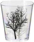 Corelle Coordinates Timber Shadows Acrylic Rock Glasses, 410ml, Set of 6