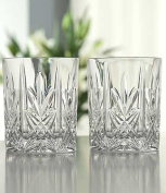 Belleek Pottery Galway Crystal Abbey Goblet, 9.9cm , Clear, Set of 4