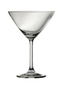 Galway Crystal Clarity Martini Glass (Set of 6), Clear