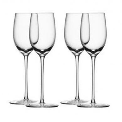 LSA International G251-07-991 Bar Sherry Glass (4 Pack), 190ml, Clear