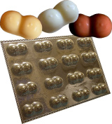 BREASTS CHOCOLATE MOULD 16 CAVITIES ADULT mould TO MAKE BITESIZE CHOCOLATES