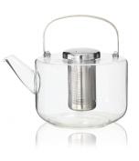 Viva Bjorn Glass Teapot- Large, Transparent