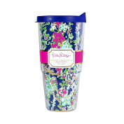 Lilly Pulitzer 710ml Insulated Thermal Tumbler with Lid, Southern Charm